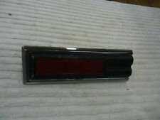 1981-1987  GRAND PRIX LEFT REAR SIDE MARKER + CHROME TRIM  1/4 PANEL