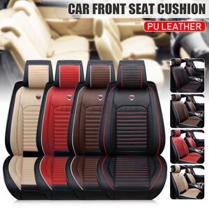 Car Sedan Truck Front Seat Cover Cushion Pad Auto Chair Protector Mat PU Leather