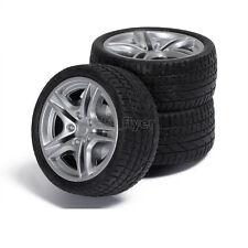 2pcs 40*15*3mm Rubber RC Car Tire Toy Wheels Model Robotic DIY Trucks 1:10 Scale