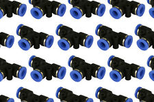 25 Piece Pneumatic Air Quick Push to Connect Fitting 1/4