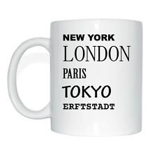 New York, London, Paris, Tokyo, WALLAN Cup Of Coffee
