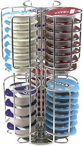 48 Coffee Pod Tassimo Capsule Holder Dispenser Stainless Steel Stand Rack Tower