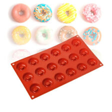 Mini Baking Dessert Muffin Pan Mould Donut Cake Mold Doughnut  Silicone Round