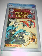 WORLD'S FINEST COMICS #222 CGC 9.6 1974 DC COMICS BATMAN SUPERMAN COVER OWTW PGS