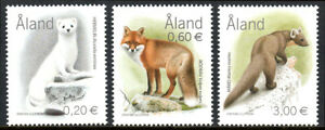 Aland Islands 218-220, MNH. Mammals, 2004