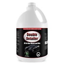 All In One Car Wash and Wax, Double Detailer 1 Gallon