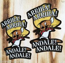 Andale! Speedy Gonzales culto rythm Pegatina Sticker cómic us cars JDM v8 v2