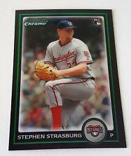 2010 BOWMAN CHROME STEPHEN STRASBURG RC NATIONALS