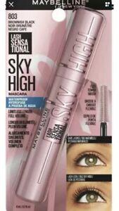 TIKTOK FAMOUS Maybelline Sky High Mascara Volumizing Lengthening Brown/Black 803