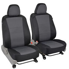 Custom Car Seat Covers for Toyota Camry 2015 Model - Comfy Black/Gray Cloth