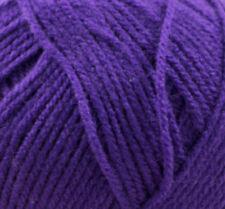 James C Brett Top Value Punto Doble DK Ovillo de lana - Púrpura 8432 (100g)