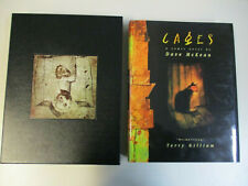 Cages Dave Mckean Limited 195/1000 Hardcover Slipcased With Cd Edition Comic