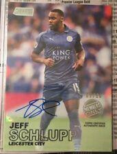 2016-17 Stadium Club English Premier League Jeff Schlupp Members Only Auto 5/10