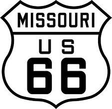 Premium auto pegatinas Route 66 EE. UU. Missouri Sticker Adhesivo autostyling Tuning