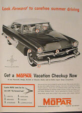 "1956 MOPAR~Plymouth-Dodge-De Soto-Chrysler 10.5 x 14"" LG Size Promo Car Trade AD"