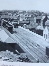 H6-1 Ephemera 1979 Reprint Picture Buckie Railway Station Undated
