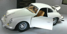 Véhicules miniatures blanc moulé sous pression pour Porsche