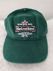 Cappello cappellino baseball cap pubblicitario Heineken vintage