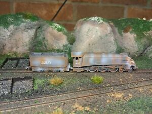 N Gauge Heavily Rusted Mallard