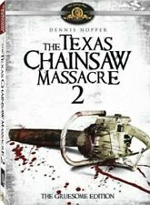 The Texas Chainsaw Massacre 2: Gruesome Edition [New Dvd] Widescreen,
