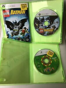 Xbox 360 Play LEGO Batman & Viva Piñata Games 1 Manual Fast Free Post Microsoft