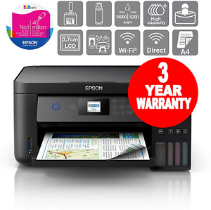 Epson EcoTank ET-2750 Printer A4 Print/Scan/Copy Wi-Fi Printer C11CG22401