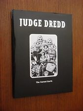 Judge Dredd: The Cursed Earth - Hardcover 1st Edition - Titan Books 2002 RARE