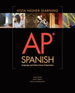 AP Spanish Workbook by Jorge Frisancho 2013 Paperback Revised Edition PB NEW