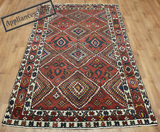 VECCHIO lana realizzato a mano Persiano Oriental FLORAL RUNNER Area Rug Carpet 263x145cm