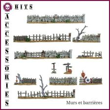 BITS WARHAMMER SCENERY WALLS & FENCES DECORS MURS & BARRIERES