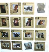 Young Guns 1988 35mm transparency press kit slides lot of (17)