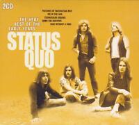STATUS QUO - THE VERY BEST OF THE EARLY YEARS (NEW SEALED 2CD)
