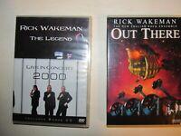 RICK WAKEMAN / YES Rick Wakeman DVD Lot Of Two (2) Titles, Both Concerts MINT!
