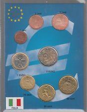 SET EURO € ITALIA ITALY COINS 2003 FIOR DI CONIO CONFEZIONE 8 PEZZI IN BLISTER