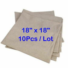 "10pcs*18"" x 18'' Linen Sublimation Blanks Pillow Case Xmas DIY Gift Home Decor"