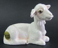 Goat Ceramic Figurine - White John Beswick Boxed
