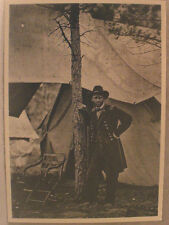 General  Ulyses S. Grant. Civil War.  New Black and White Post Card Photo