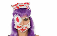 Horror Halloween Disfraz Adulto Sangriento Zombie enfermera Kit De Accesorios