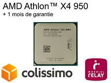 CPU AMD Athlon™ X4 950 AM4 3.5GHz +  ventilateur original peu utilisé!!!