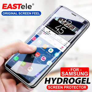 3x HYDROGEL Screen Protector For Samsung Galaxy S10 5G S9 S8 Plus Note 10 9
