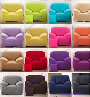 Removable  Elastic Stretch Lounge Couch  Sofa Covers Slipcover 1 2 3 4 Seater