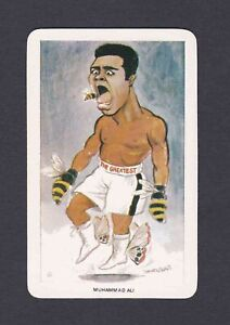 1979 Muhammad Ali Venorlandus World of Sport Our Heroes Cassius Clay Boxing Card