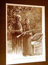 Cardinale Mery Del Val e Flobert nel 1911 Tiro a segno a Villa Blumensthil