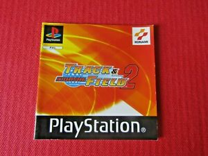 International track & Field 2 PS1 Manual Only Black Label Replacement Sony ps1