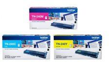 6 Brother Genuine TN-240C TN-240M TN-240Y Toners For 9010CN 3070CW 3040CN 9120CN