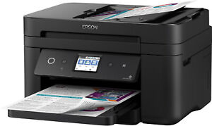 EPSON WorkForce WF-2860DWF 4in1 Drucker Fax Kopieren Scannen NFC WLAN B-WARE
