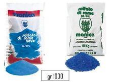solfato di rame neve  kg 1 fungicida biologico  MANICA  verderame