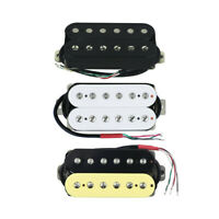 Alnico 5 Humbucker Double Coil Guitar Adjustable Neck / Bridge / N+B Set Pickup