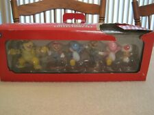 2011 SUPER MARIO MINI FIGURE 6 PACK COLLECTORS SET--NEW