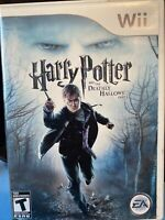 Harry Potter and the Deathly Hallows: Part 1 (Nintendo Wii, 2010)CIB Ships Fast